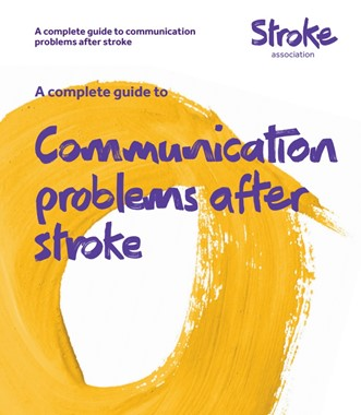 Communication problems after a stroke