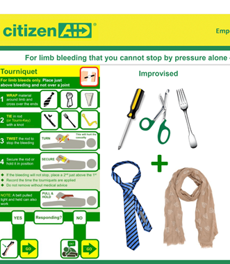 CitizenAid - Tourniquets